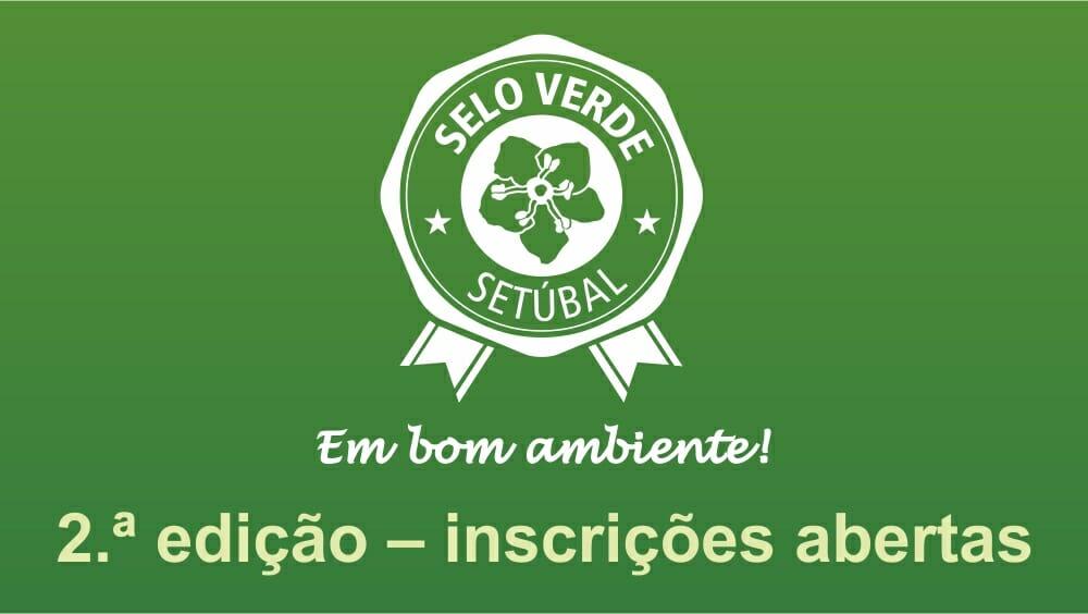 Selo Verde   Inscrições   Edição 2020