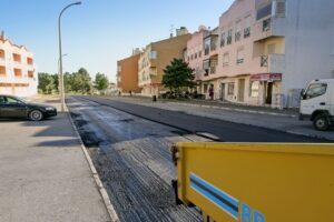Repavimentação - ruas José Afonso e Vasco Santana
