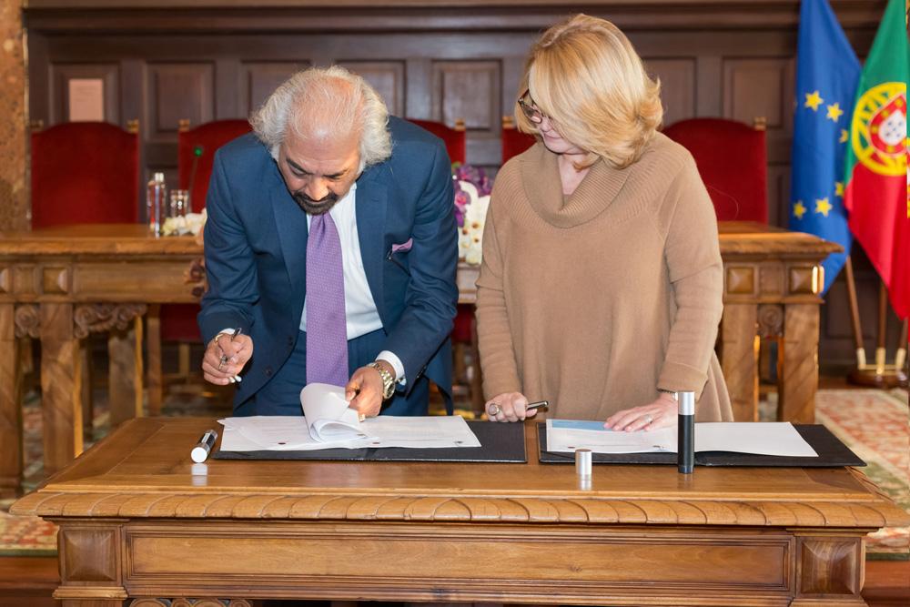 Assinatura de Protocolo projeto Cidade do Conhecimento