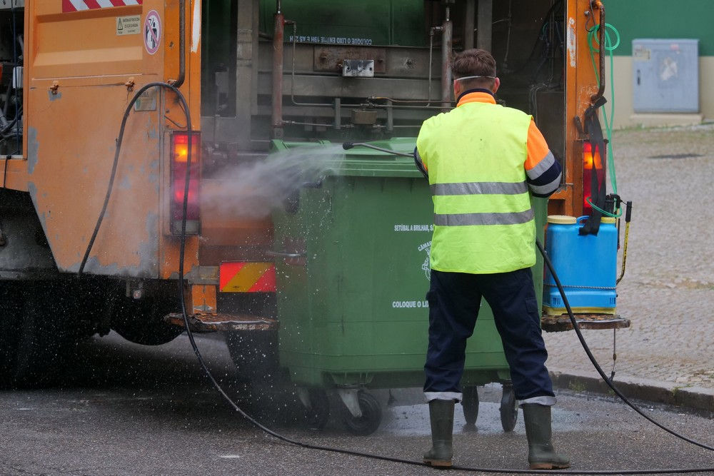 Coronavírus Covid-19 | Limpeza e desinfeção de ruas | 31 de março