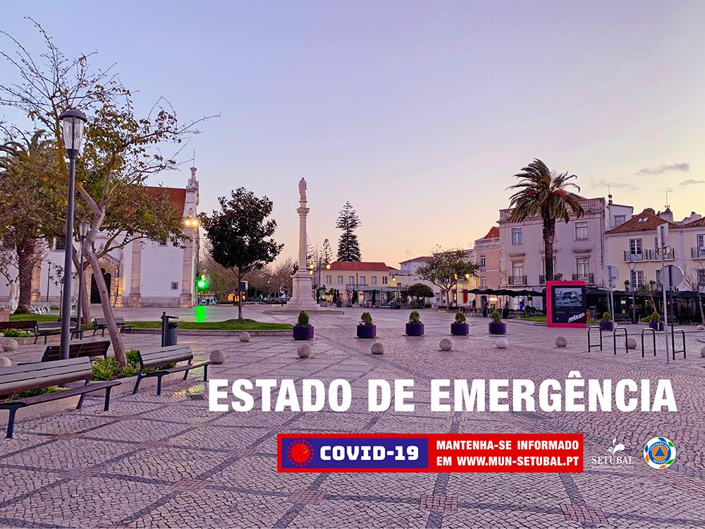 Covid-19 | Estado de Emergência | Banner