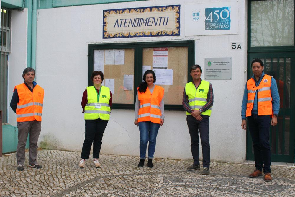 Coronavírus Covid-19 | São Sebastião apoio população vulnerável | Foto: Junta de Freguesia de São Sebastião