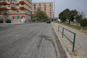 Repavimentações Avenida de Angola