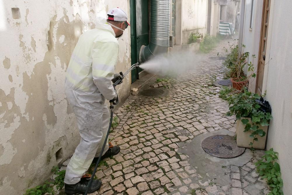 Coronavírus Covid-19 | limpeza e desinfeção | 3 de abril