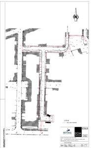 Infraestruturas na Rua I, do Bairro Santos Nicolau | Planta geral