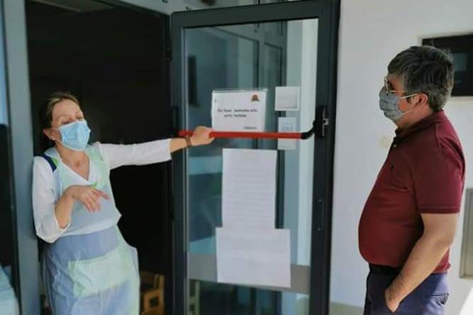 Coronavírus Covid-19 | Visitas a escolas e creches