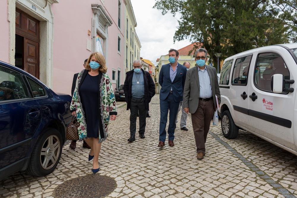 Coronavírus Covid-19 | Visita Cáritas
