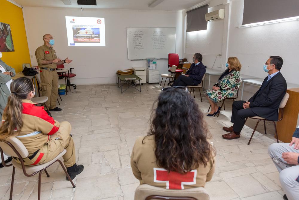 Coronavírus Covid-19 | Visita Cruz Vermelha