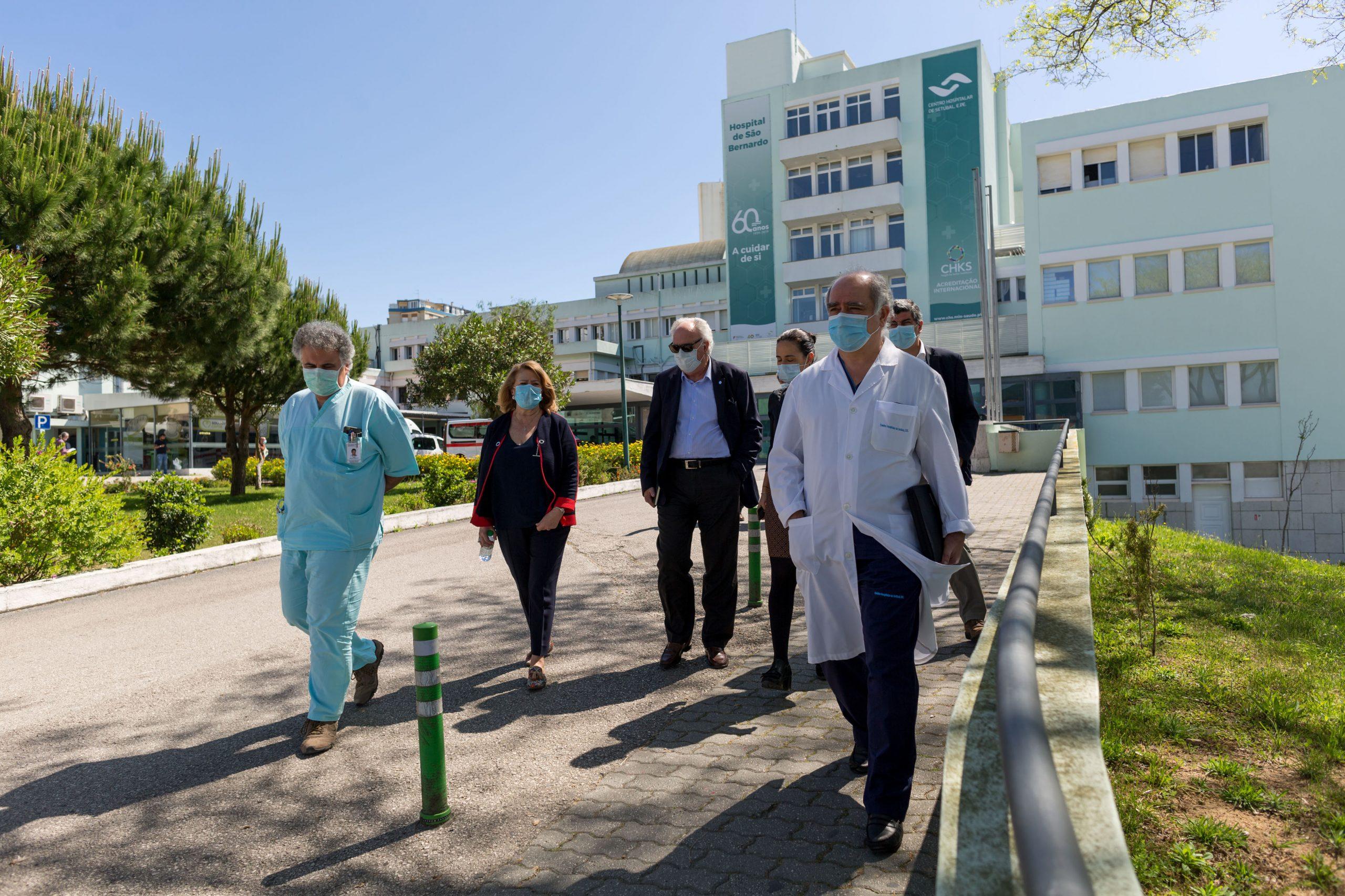 Coronavírus Covid-19 | visitas instituições - CHS