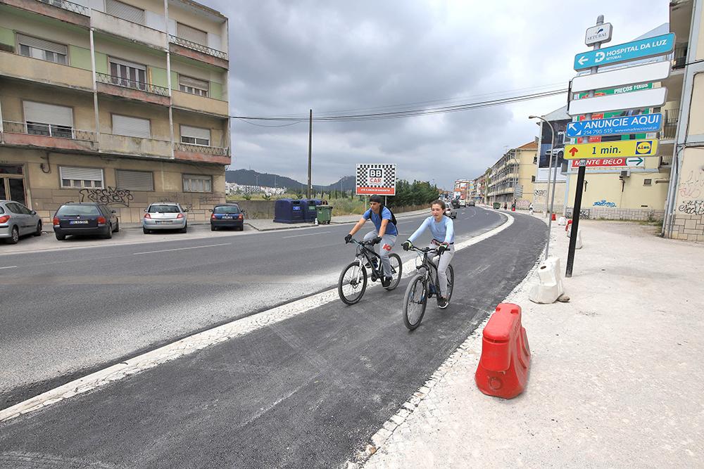 Obras projeto Ciclop7 | Avenida dos Ciprestes