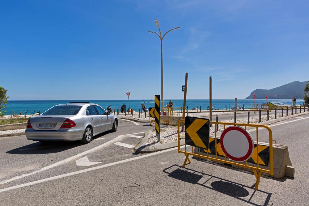 Coronavírus Covid-19 | corte de trânsito no acesso às praias