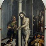 Cristo a ser desatado da coluna depois da flagelação | Museu ao Seu Encontro