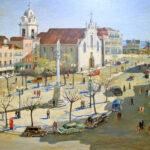Pintura da Praça de Bocage | Luciano Santos