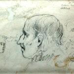 Estudo da cabeça da estátua de Bocage