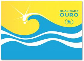 Praia Qualidade Ouro   logotipo