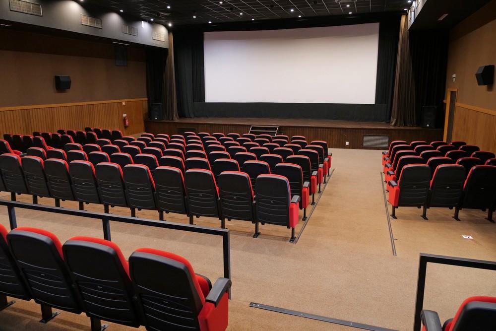 Coronavírus Covid-19 | reabertura de equipamentos | Cinema Charlot - Auditório Municipal