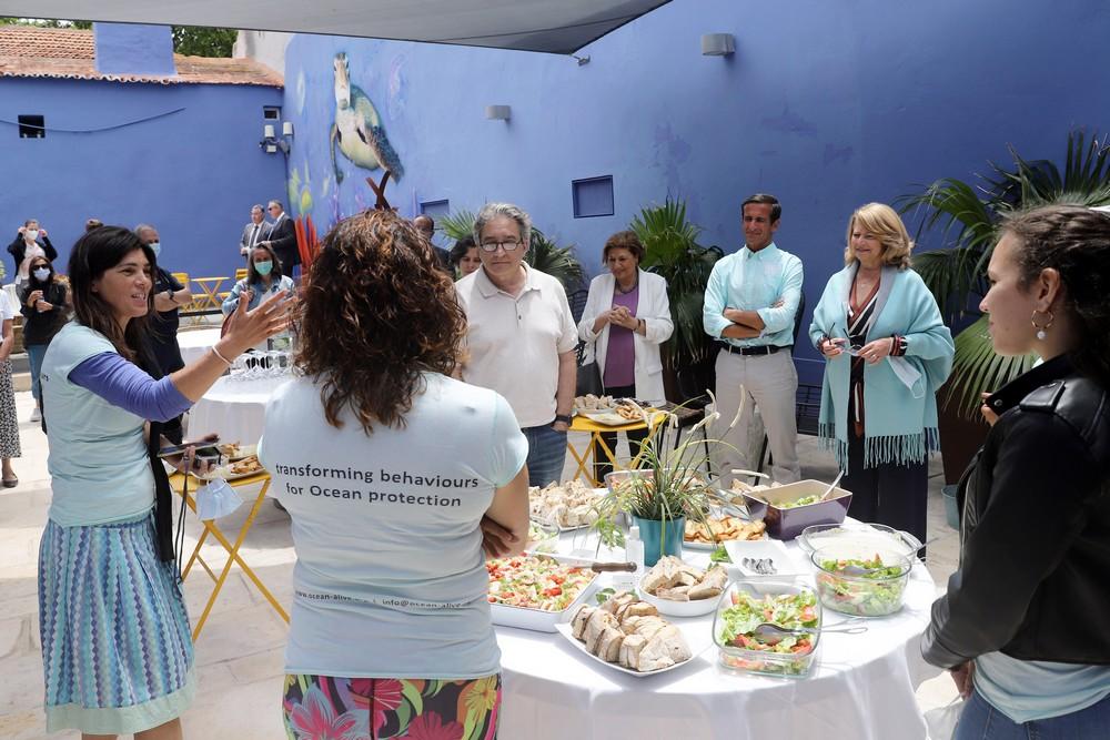 Ministro do Mar visita Casa da Baía