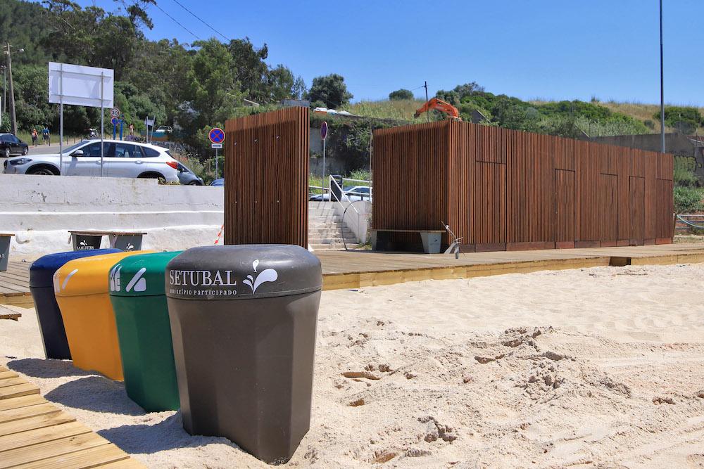 Praia da Albarquel | valorização | novos equipamentos