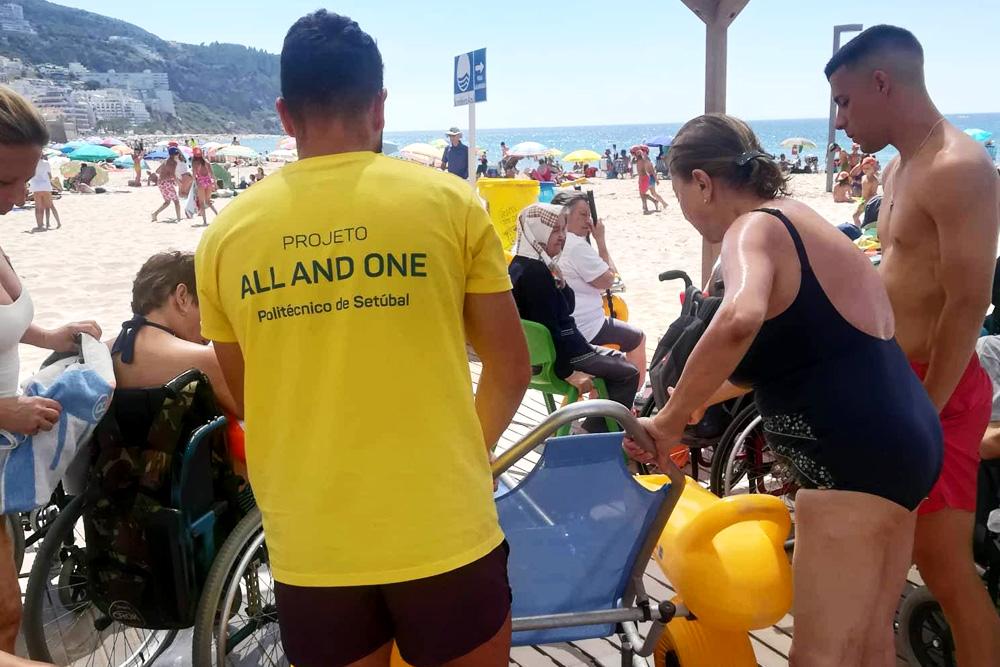 Projeto Praia para Todos | apoio a banhistas