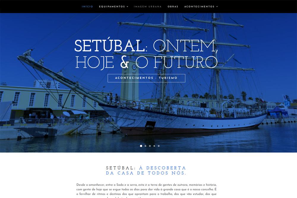 Site Setúbal: Ontem, Hoje & o Futuro
