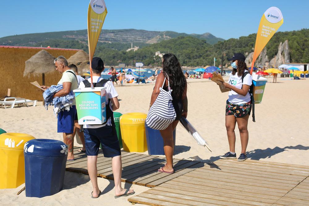 Eco Praias 2020 | ação de sensibilização | Praia de Albarquel