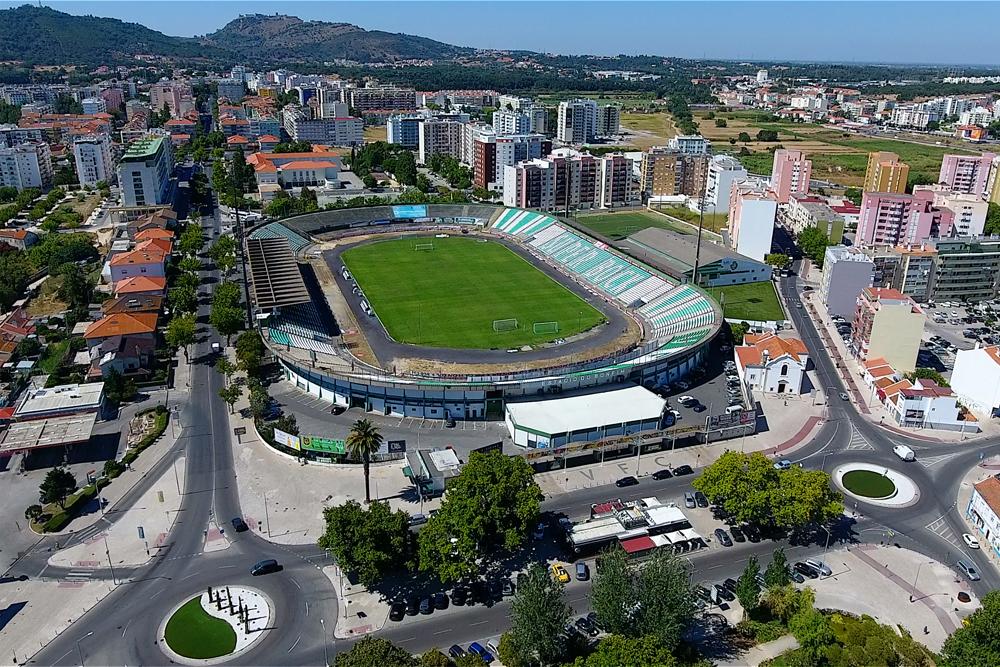 Estádio do Bonfim | imagem aérea