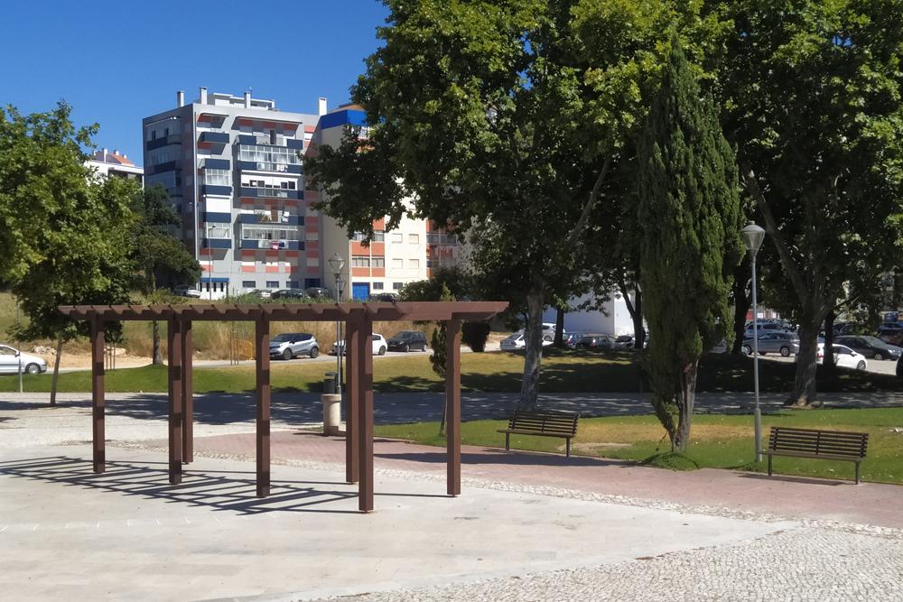Obras de beneficiação no Jardim do Monte Belo