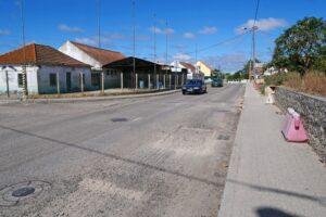 Repavimentação da Estrada de Santo Ovídio