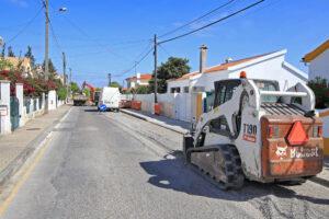 Rua da Serração | obras em infraestruturas