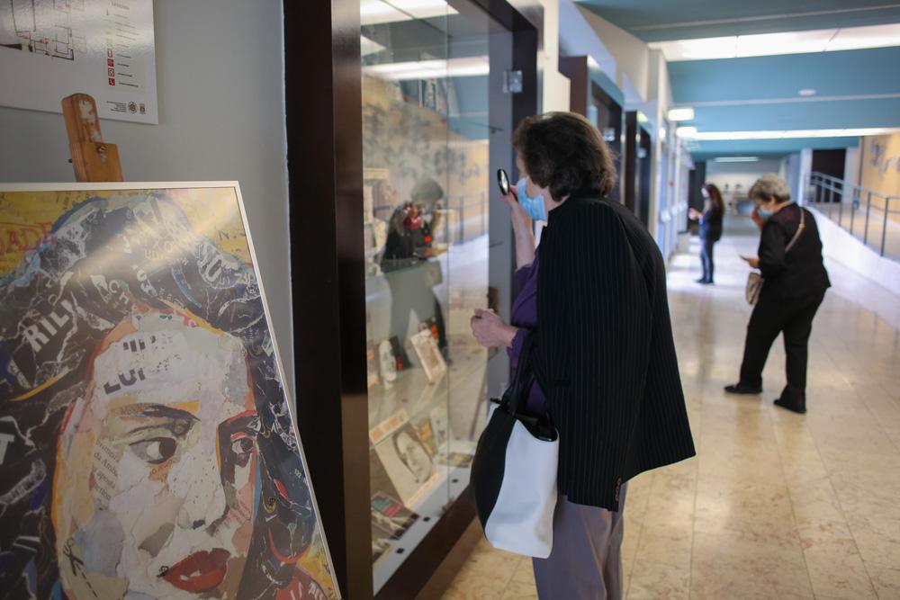 Amália Canta-me o Fado - exposição - Centenário de Amália
