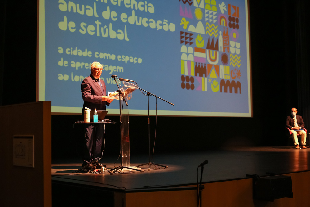 VI Conferência Anual de Educação | Sessão de abertura | vice-presidente da autarquia - Manuel Pisco