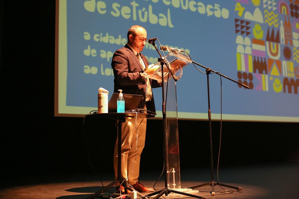 VI Conferência Anual de Educação | Sessão de abertura | Secretário Executivo da Comissão Nacional da UNESCO - Sérgio Gorjão