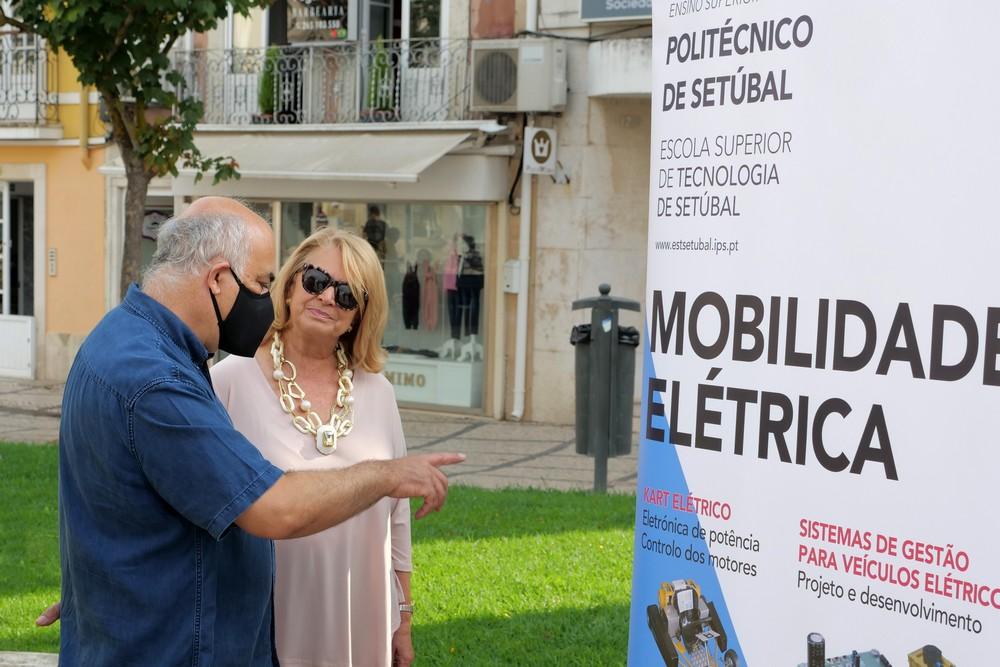Dia Europeu sem Carros 2020 | mostra na Praça de Bocage