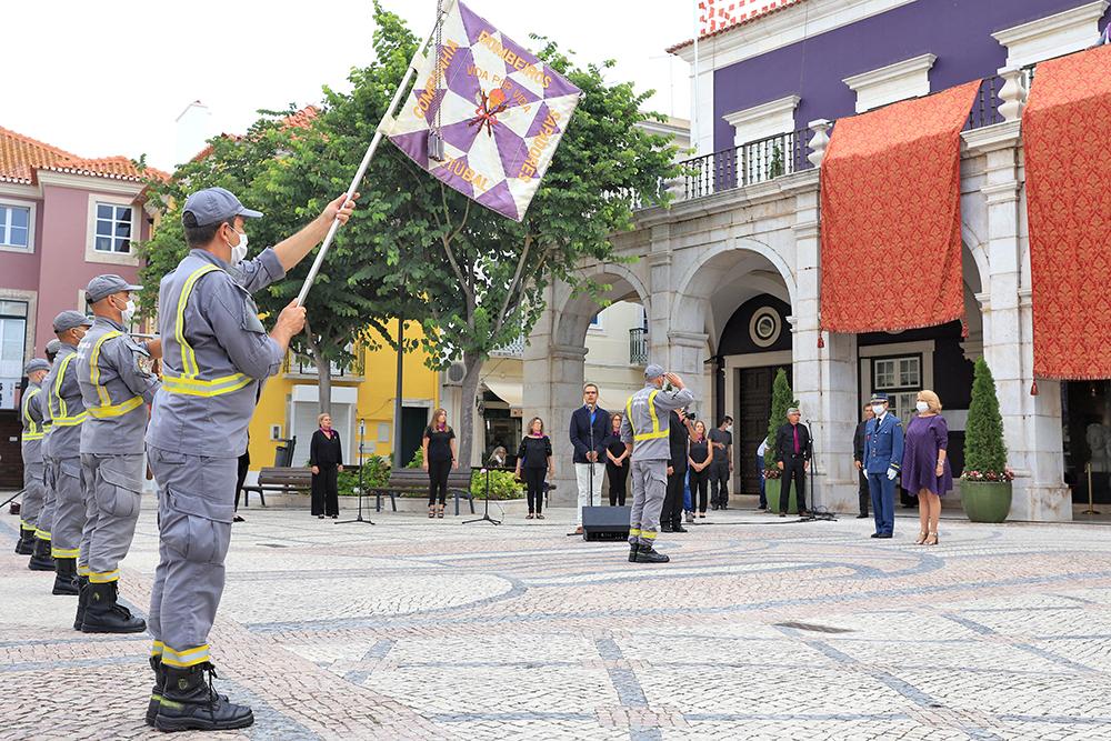 Comemorações Bocagianas | Cerimónia de hastear da bandeira