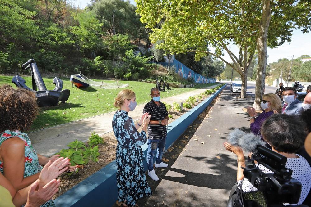 Mural e reabilitação urbana na EN 10 | Inauguração