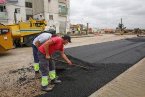 Obras - Rua Júlio Dinis - asfaltamentos