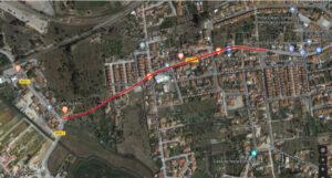 Repavimentação da Estrada de Santo Ovídio | Ortofotomapa