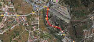 Repavimentação - Estrada Vale da Rosa | Ortofotomapa