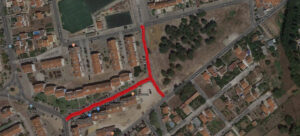 Repavimentação - ruas José Afonso e Vasco Santana | Ortofotomapa