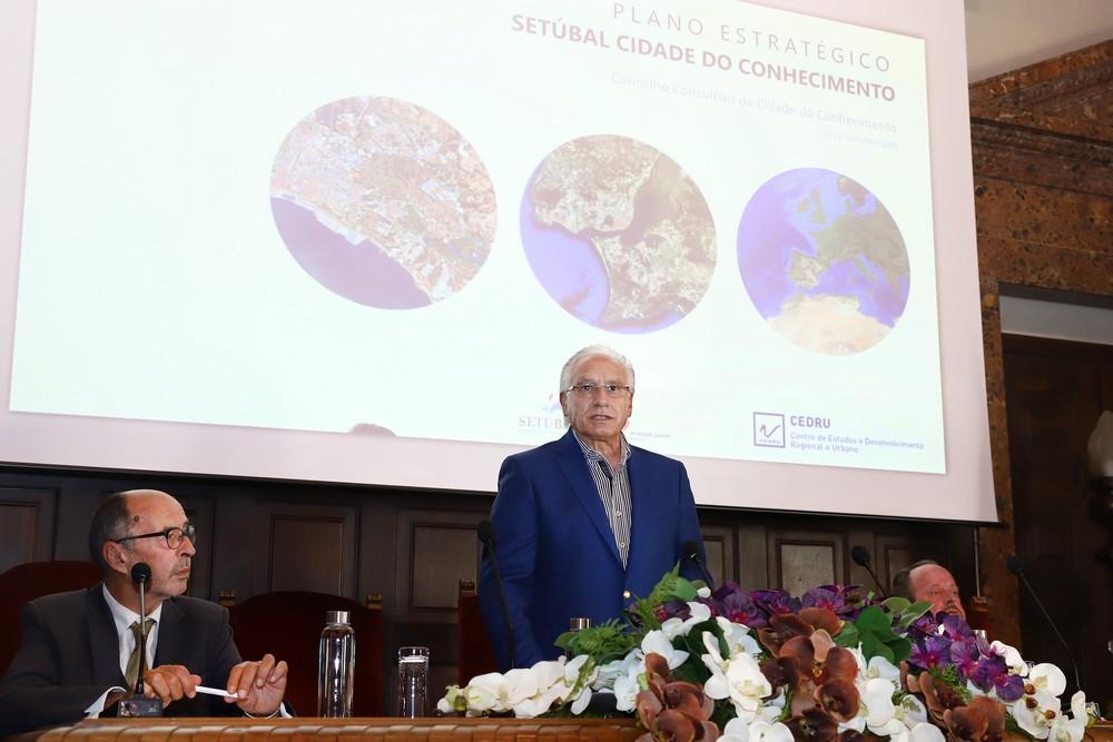 Cidade do Conhecimento | Segunda reunião do Conselho Consultivo | Apresentação do Plano Estratégico | Manuel Pisco