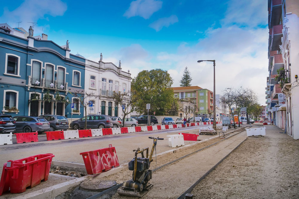 Obras | Avenida dos Combatentes | atualização de dezembro