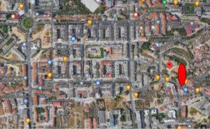 Obras | Rua Júlio Dinis | ortofotomapa