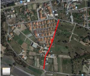 Repavimentação da Rua 28 de Março | Ortofotomapa