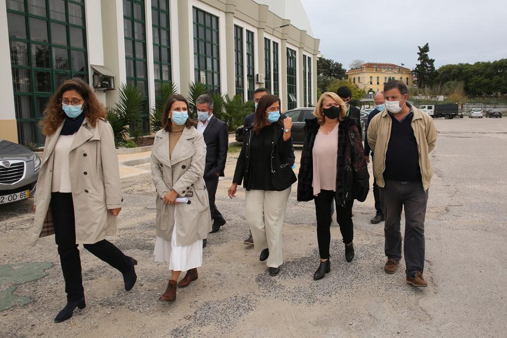 COVID-19 | Atendimento Doenças Respiratórias | instalações IEFP