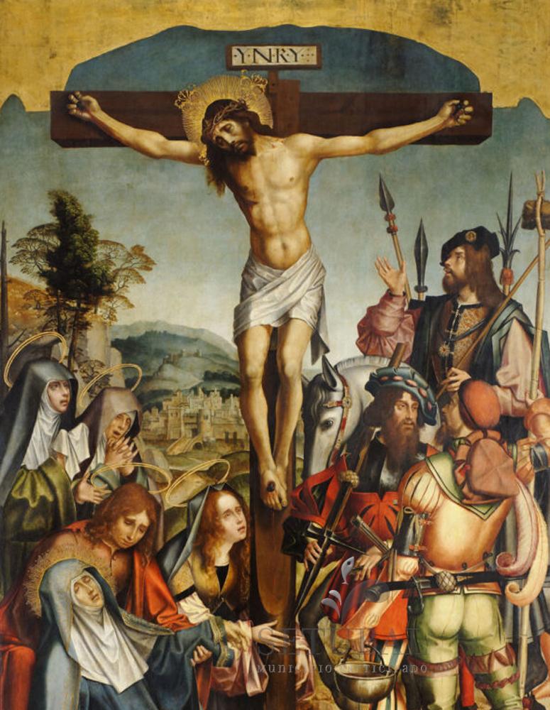Museu ao Seu Encontro | Calvário | Retábulo da Igreja de Jesus