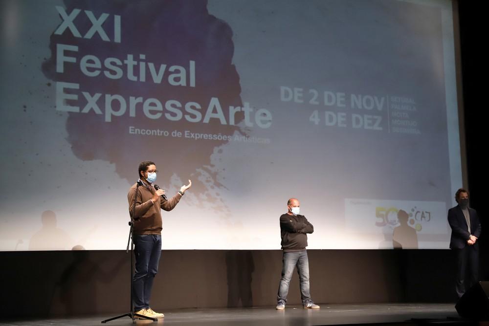 Festival Expressarte - cerimónia de abertura