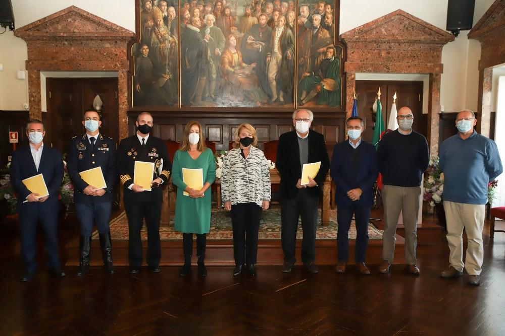 Memorando de Princípio de Adesão à Plataforma Local para a Redução do Riscos de Catástrofes de Setúbal