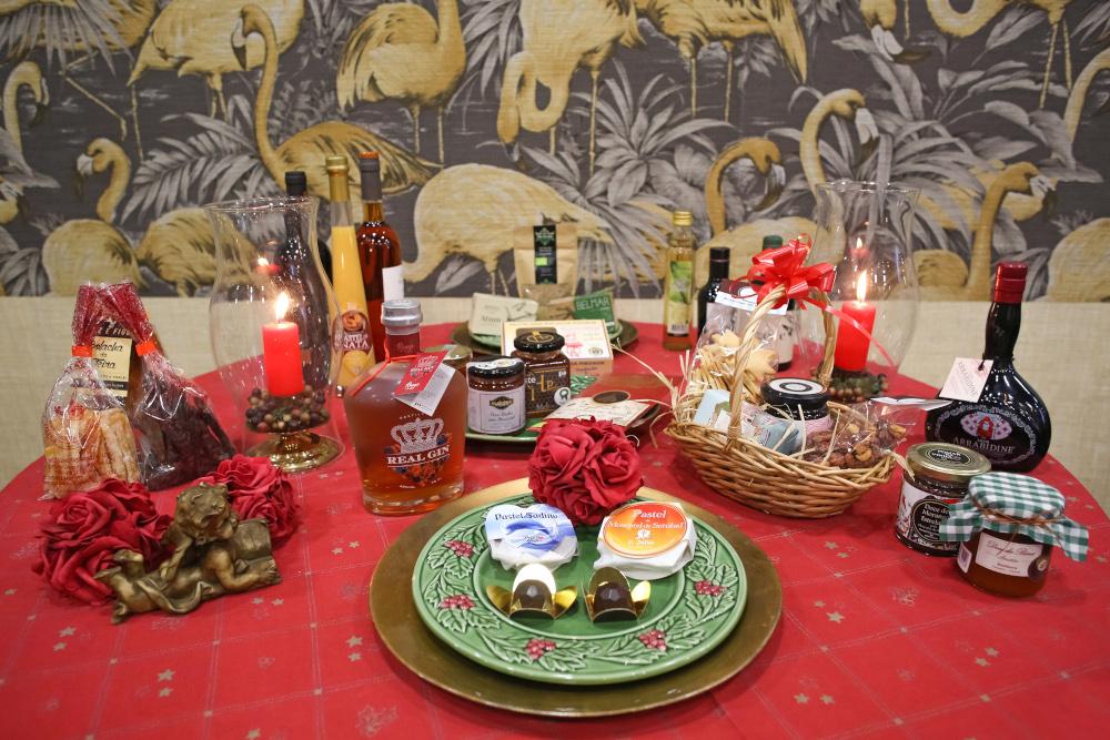 Mesa de Natal - Produtos Regionais de Setúbal