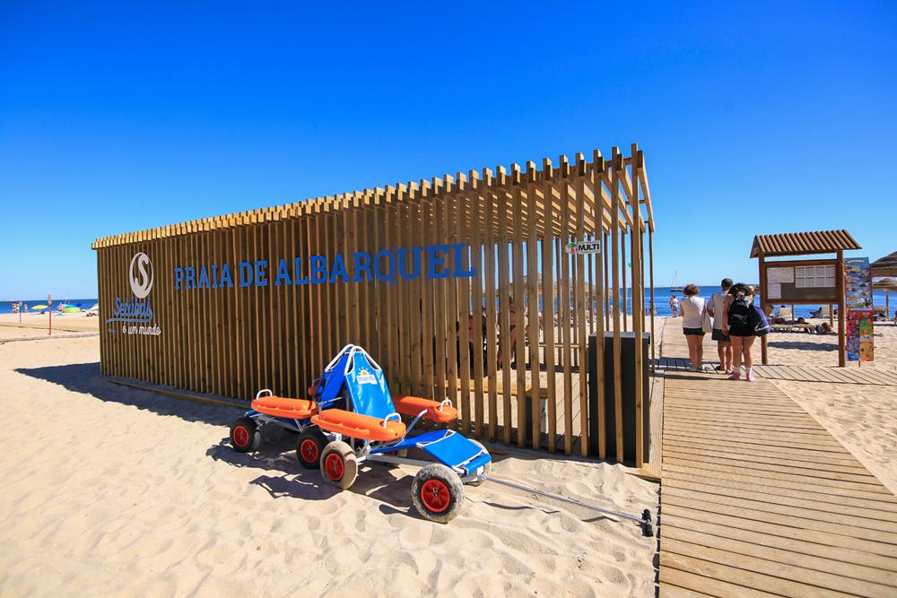 Praia de Albarquel | Praia Acessível