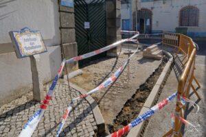 Rua António José Batista | rebaixamento de passeios | passadeiras